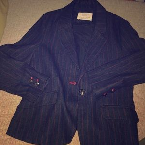 Pinstripe suit for girls Size 8
